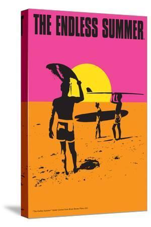 The Endless Summer - Original Movie Poster-Lantern Press-Stretched Canvas Print