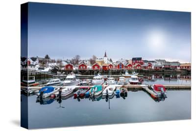 Port of Reine-Philippe Sainte-Laudy-Stretched Canvas Print