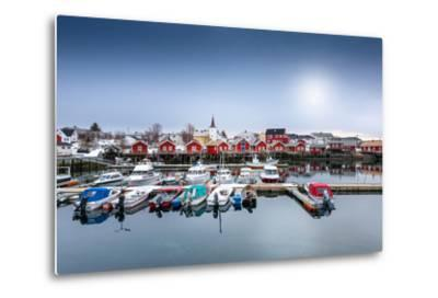 Port of Reine-Philippe Sainte-Laudy-Metal Print