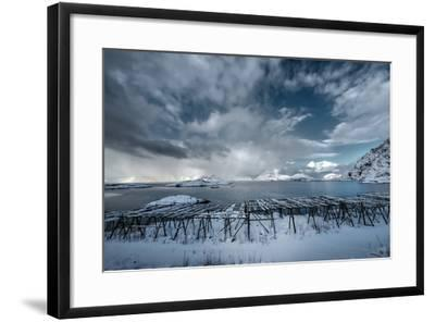 Cloudy Day in Norway-Philippe Sainte-Laudy-Framed Photographic Print