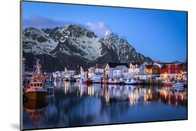 Henningsv?r the Venice of the Lofoten-Marco Carmassi-Mounted Photographic Print