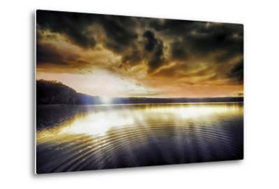 Divine Light-Viviane Fedieu Daniel-Metal Print