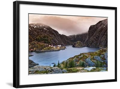 Norwegian Village-Liloni Luca-Framed Photographic Print