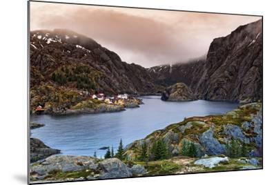 Norwegian Village-Liloni Luca-Mounted Photographic Print