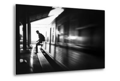 The Station: Rush Arrival-Sebastian Kisworo-Metal Print