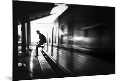 The Station: Rush Arrival-Sebastian Kisworo-Mounted Photographic Print