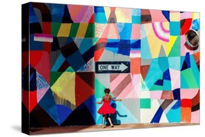 One Way-Gloria Salgado Gispert-Stretched Canvas Print