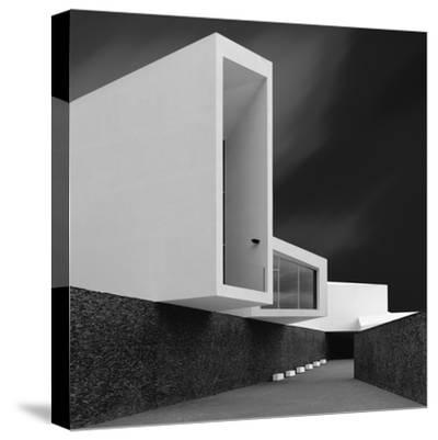 White Walls-Olavo Azevedo-Stretched Canvas Print