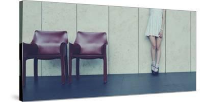 Museum- U-Kei-Stretched Canvas Print