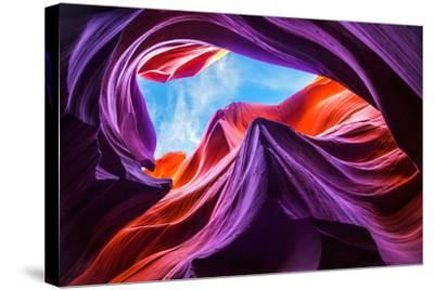 Magical Lower Antelope Canyon-Nanouk El Gamal-Stretched Canvas Print