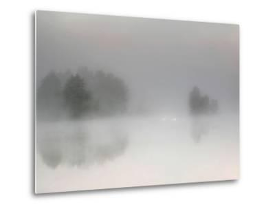 Misty Morning-Bjorn Emanuelson-Metal Print