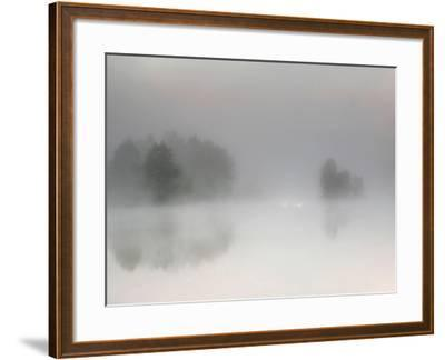 Misty Morning-Bjorn Emanuelson-Framed Photographic Print