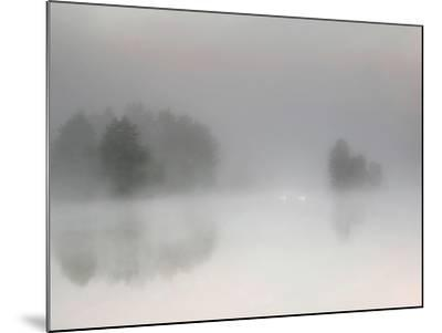 Misty Morning-Bjorn Emanuelson-Mounted Photographic Print