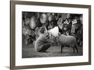 The News- Agatko-Framed Photographic Print