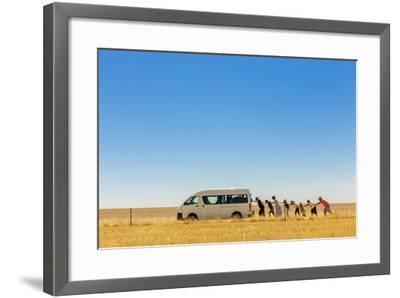 2.500 Km Around Australia-Gloria Salgado Gispert-Framed Photographic Print