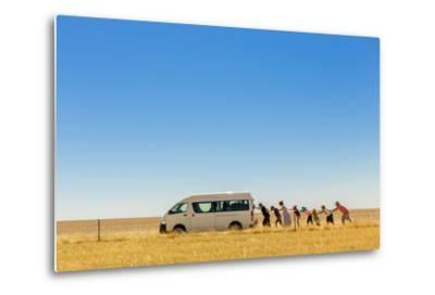 2.500 Km Around Australia-Gloria Salgado Gispert-Metal Print