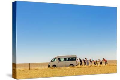 2.500 Km Around Australia-Gloria Salgado Gispert-Stretched Canvas Print