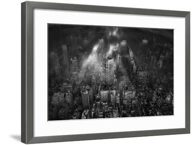New York City-Leif L?ndal-Framed Photographic Print