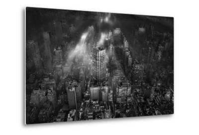 New York City-Leif L?ndal-Metal Print