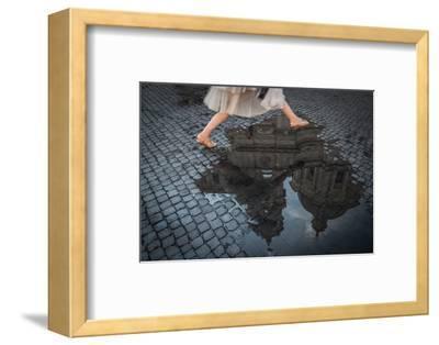 Jump-Antonio Convista-Framed Photographic Print
