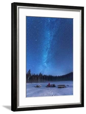 Under the Starry Night-Ales Krivec-Framed Photographic Print
