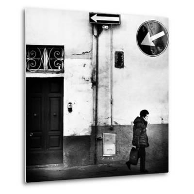 Left, Absolutely!-Franco Maffei-Metal Print