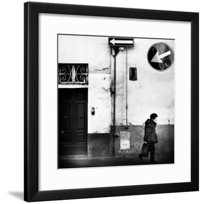 Left, Absolutely!-Franco Maffei-Framed Photographic Print