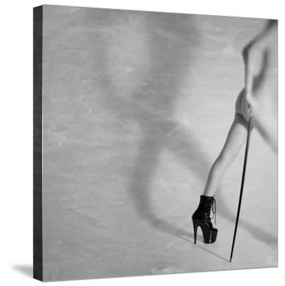 Just Leaving Now...-Mel Brackstone-Stretched Canvas Print