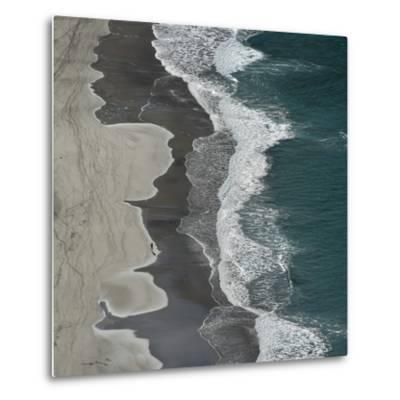 Running Waves-Lex Molenaar-Metal Print
