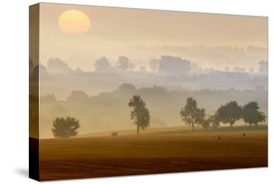Morning View-Piotr Krol (Bax)-Stretched Canvas Print
