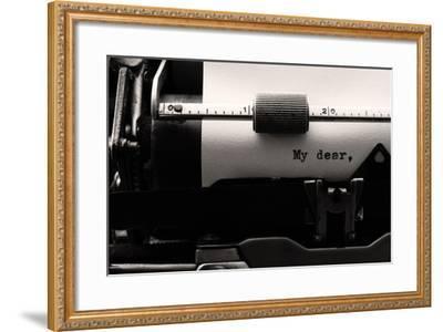My Dear-Luiz Laercio-Framed Photographic Print