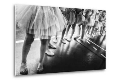 Ballerina-Laura Mexia-Metal Print