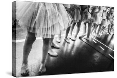 Ballerina-Laura Mexia-Stretched Canvas Print