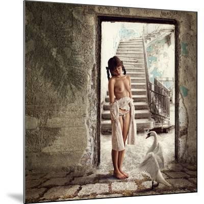 Princess and the Swan-Dmitry Laudin-Mounted Photographic Print