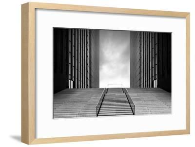 Stairway to Nothing-Oliver Koch-Framed Photographic Print