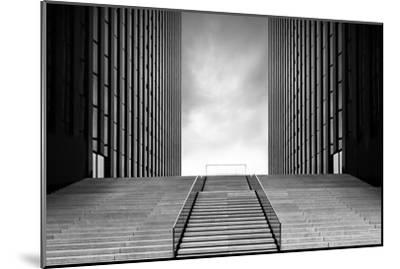 Stairway to Nothing-Oliver Koch-Mounted Photographic Print