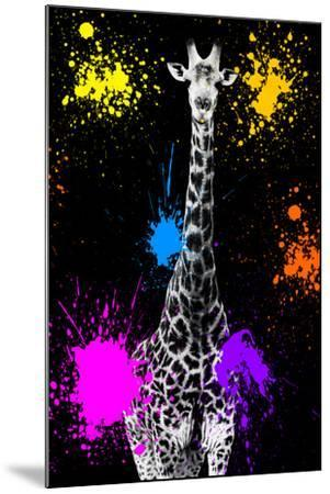Safari Colors Pop Collection - Giraffe VII-Philippe Hugonnard-Mounted Giclee Print