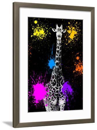 Safari Colors Pop Collection - Giraffe VII-Philippe Hugonnard-Framed Giclee Print