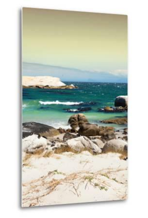 Awesome South Africa Collection - Boulders Beach at Sunset - Cape Town II-Philippe Hugonnard-Metal Print