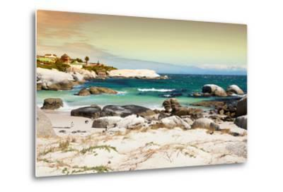 Awesome South Africa Collection - Boulders Beach at Sunset - Cape Town I-Philippe Hugonnard-Metal Print