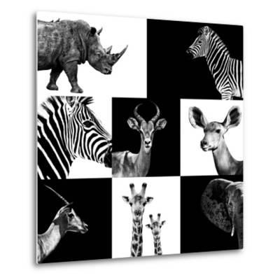 Safari Profile Collection-Philippe Hugonnard-Metal Print
