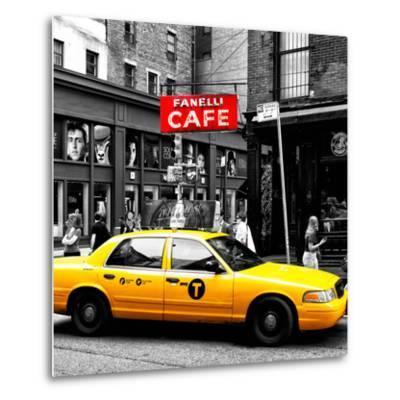 Safari CityPop Collection - New York Yellow Cab in Soho IV-Philippe Hugonnard-Metal Print
