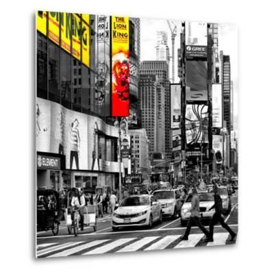 Safari CityPop Collection - Times Square Lion King IV-Philippe Hugonnard-Metal Print