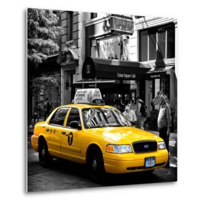 Safari CityPop Collection - NYC Union Square III-Philippe Hugonnard-Metal Print