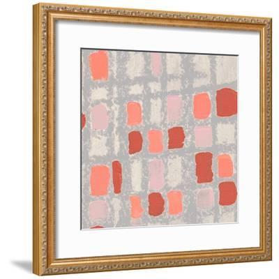 Coral Fractal I-Michael Marcon-Framed Art Print