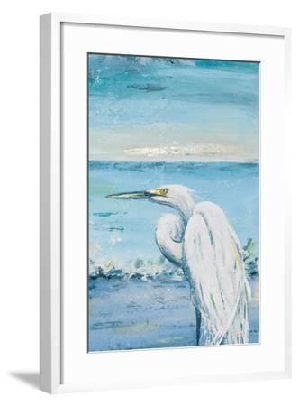 Great Blue Egret II-Patricia Pinto-Framed Art Print