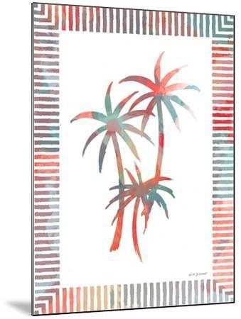 Watercolor Palms III-Nicholas Biscardi-Mounted Art Print
