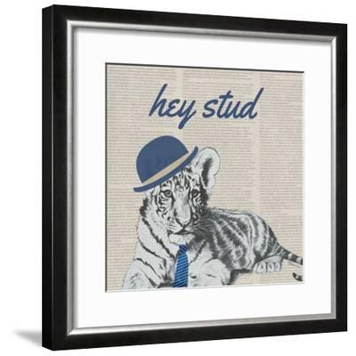 Stud Tiger-Vivien Rhyan-Framed Art Print