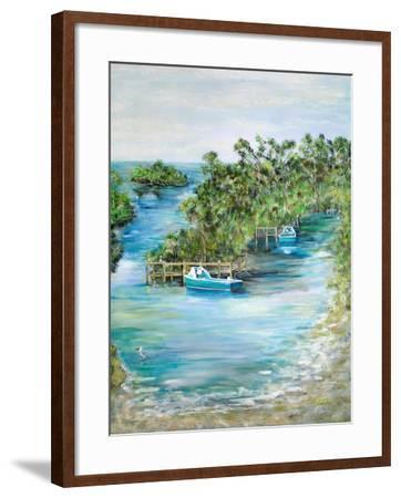 Florida Scene-Julie DeRice-Framed Art Print