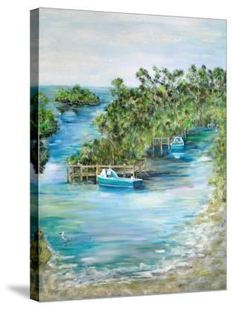 Florida Scene-Julie DeRice-Stretched Canvas Print